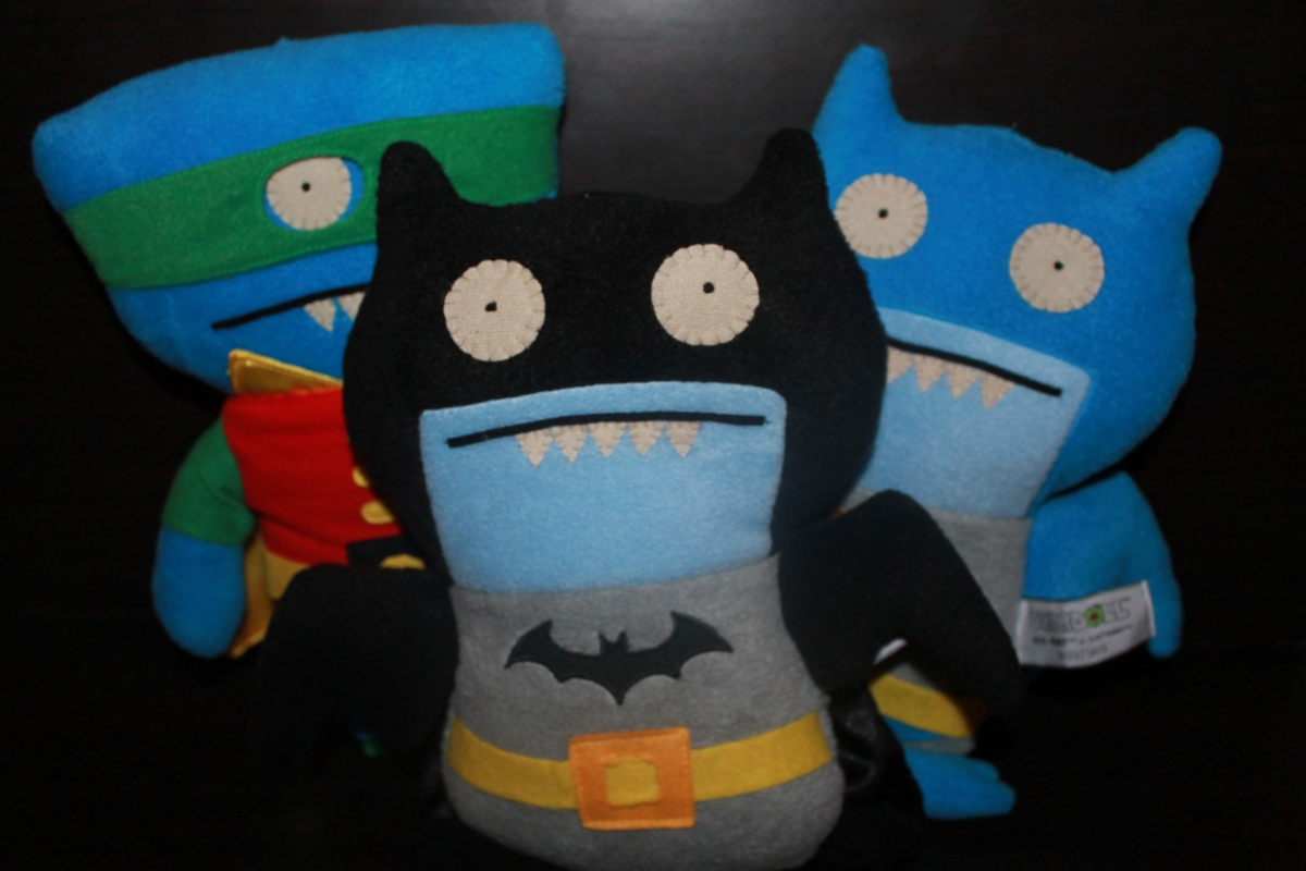 "New York Toy Fair 2014: DC Comics 11"" UglyDolls by Gund"