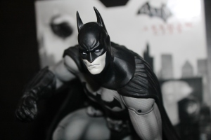 A Statue of Batman by Kotobukiya
