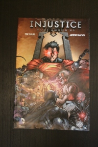 """Injustice: Gods Among Us"" Comic Book detailing the events that led to the game"