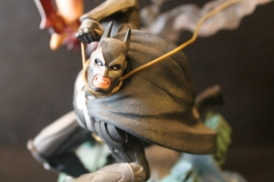 "Detail on the Batman part of the 13"" Statue"