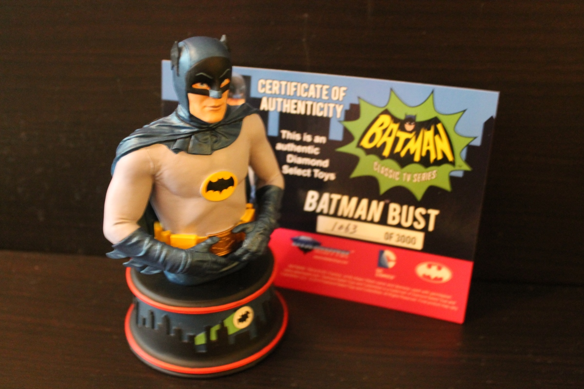 Diamond Select Classic Batman TV Series Batman Bust Review