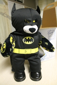 A full look at the bear and costume