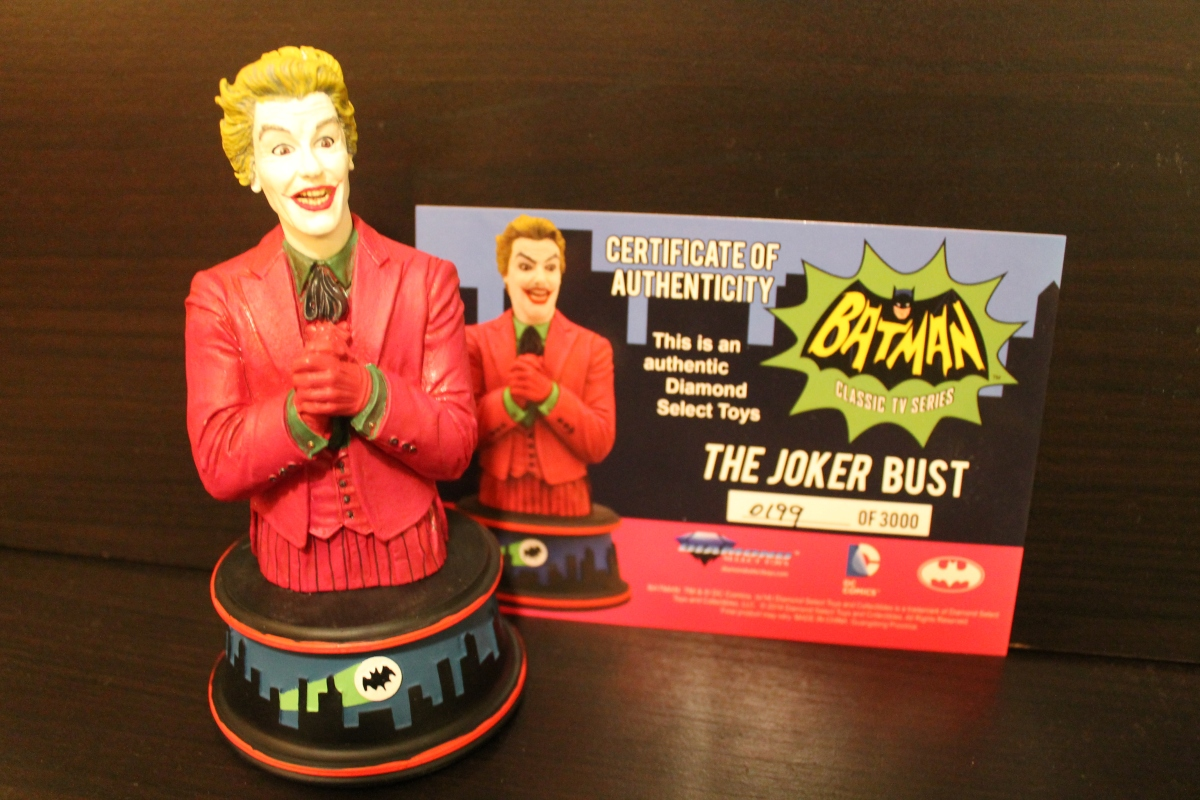 Diamond Select Classic Batman TV Series Joker Bust Review