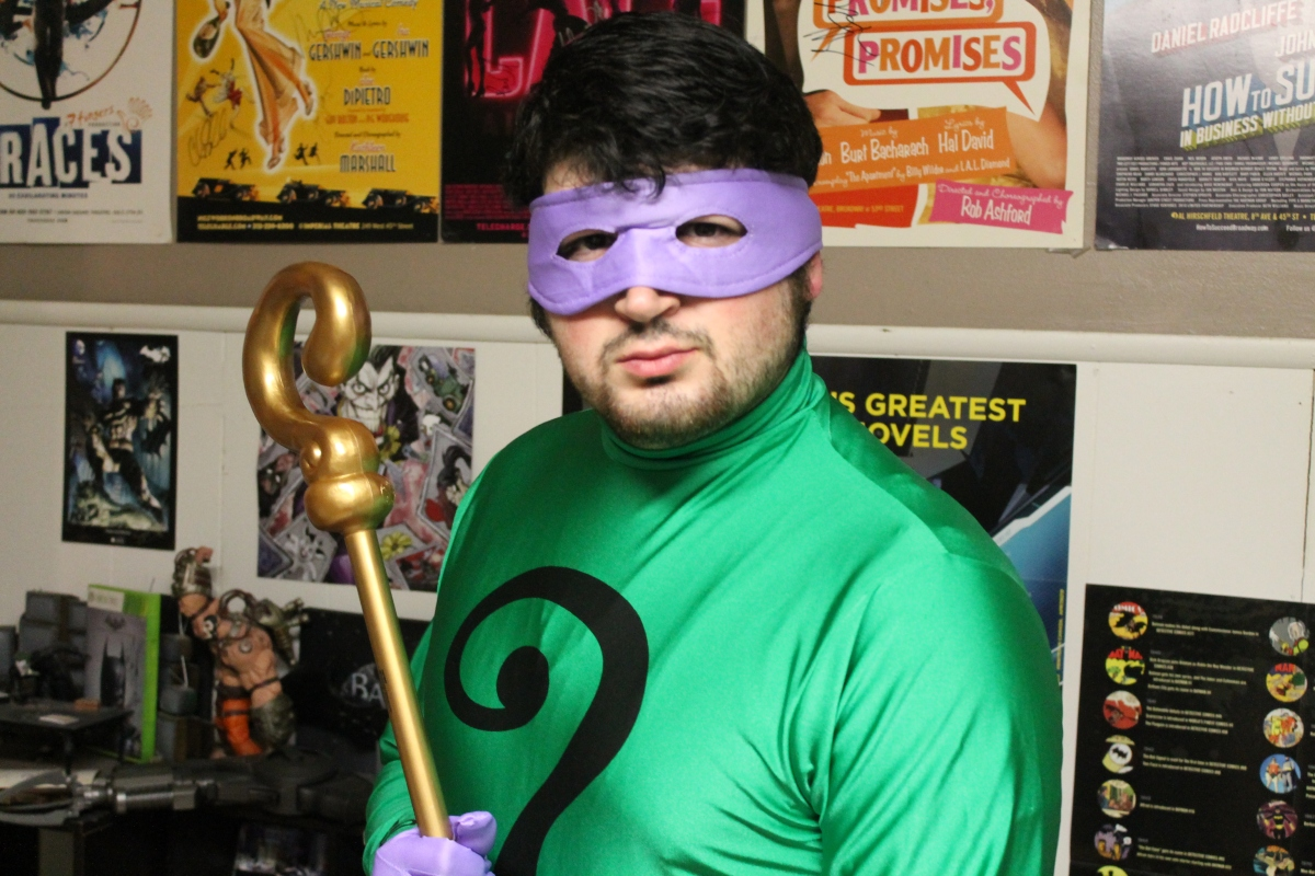 Batman Classic TV Series Riddler Costume Review