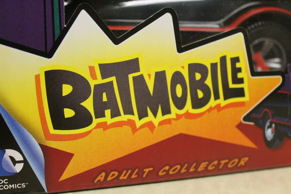 Get Behind the Wheel With the Mattel Batman Classic TV Series Batmobile!