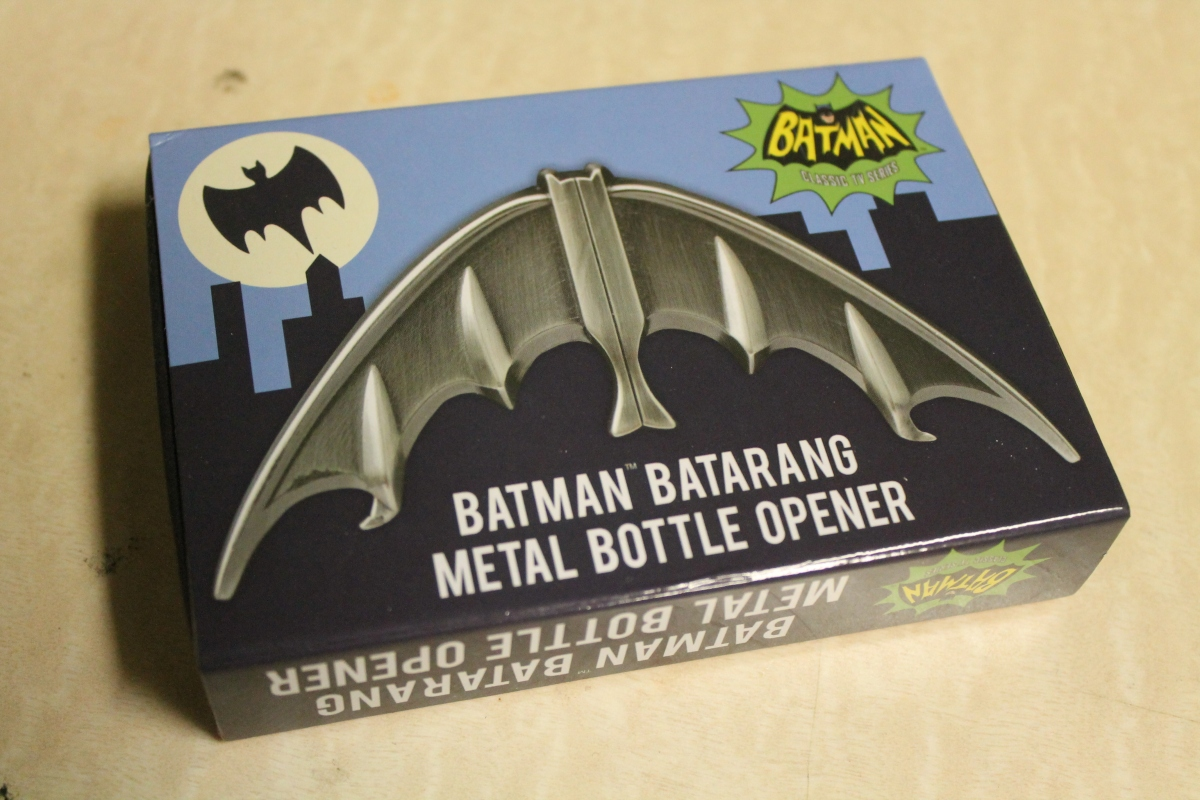 Batman Classic TV Series Batarang Metal Bottle Opener Review