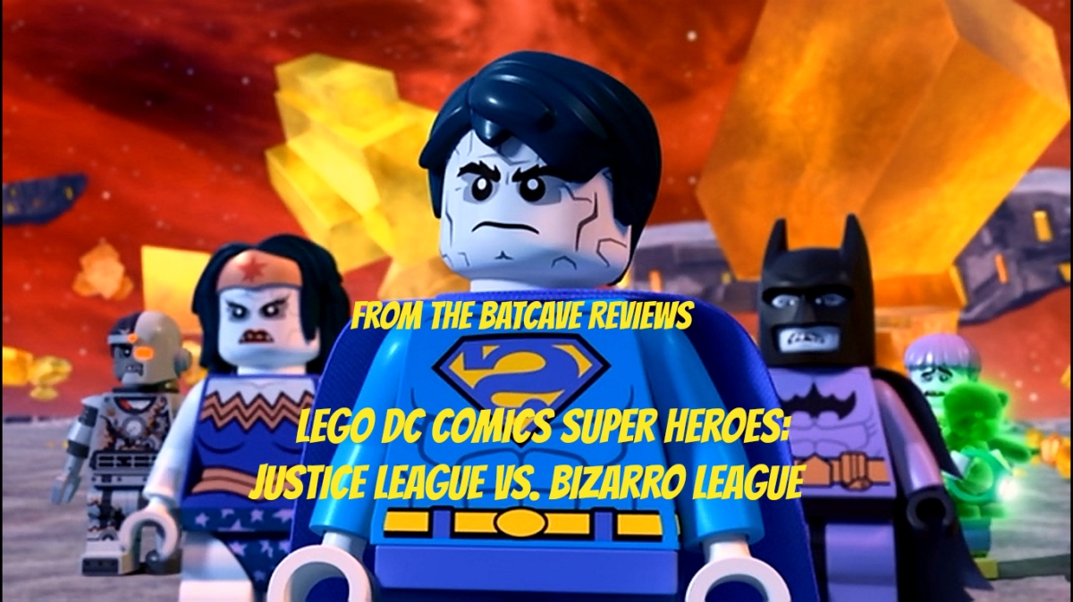 Go Bizarro With Lego Justice League vs. Bizarro League on Blu-Ray and DVD!