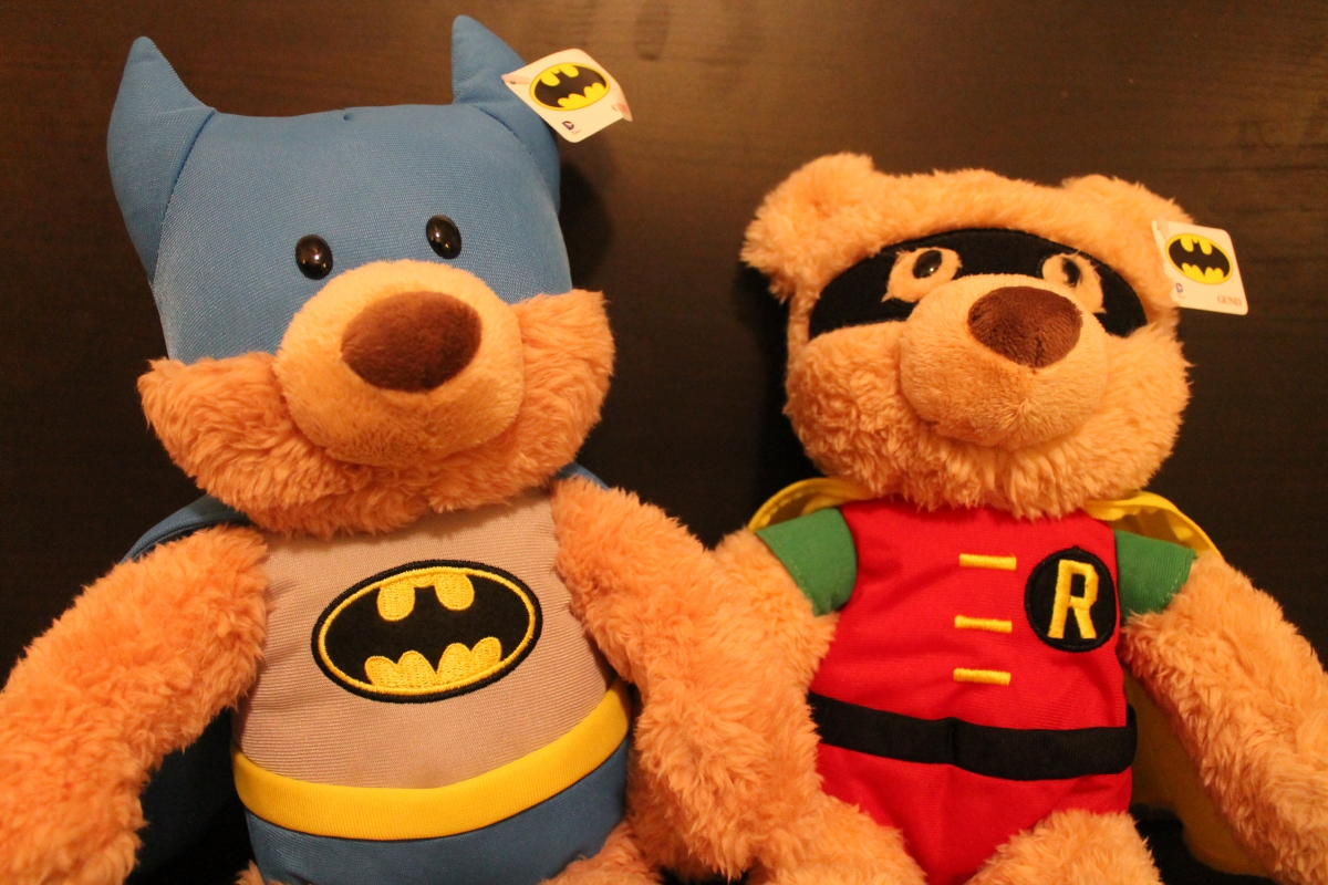 GIVEAWAY: 2 Sets of Gund's DC Comics Batman and Robin Plush!