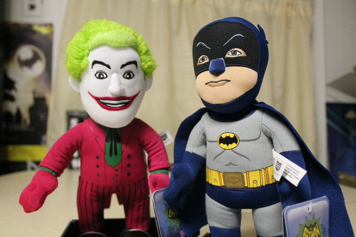 Batman '66 Comes to Cuddly Collectible Life With Bleacher Creatures!