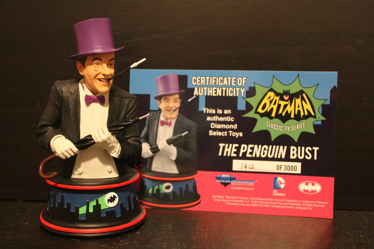 Diamond Select Classic Batman TV Series Penguin Bust Review