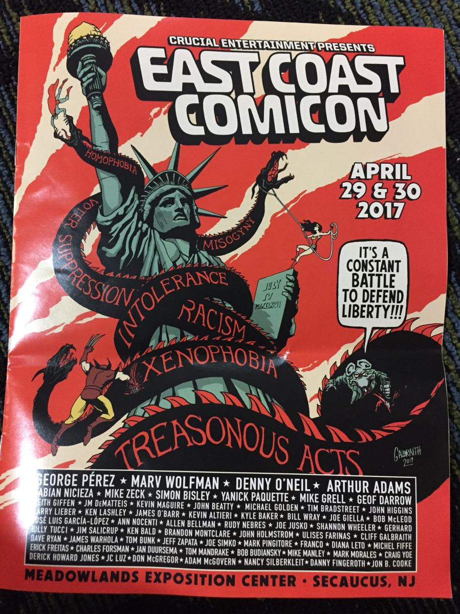 East Coast Comicon 2017 Wows!